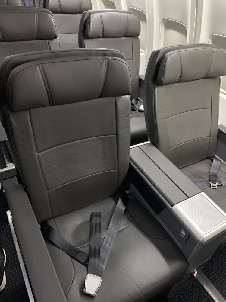 Trip Review: First Class On American's Retrofitted Boeing 737-800
