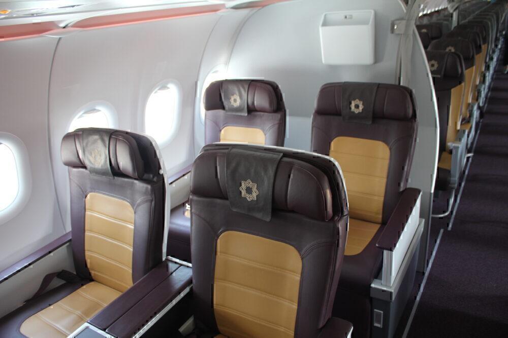 Vistara business class cabin