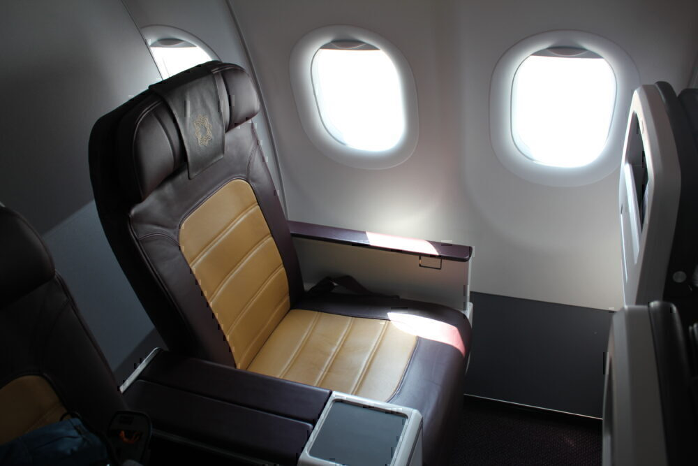 Vistara business class seat