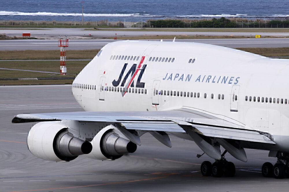 Japan Airlines 747-400D