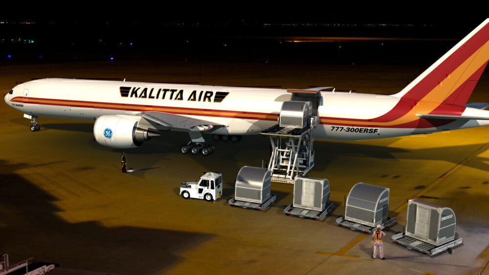 Kalitta Air, Boeing 777-300ERSF, Launch Customer