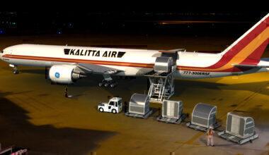 Kalitta Air, Boeing 777-300ERSF, Launch Customer