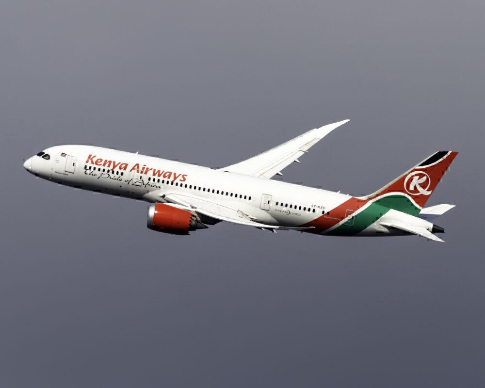 Kenya Airways Boeing 787-8 Dreamliner 5Y-KZC