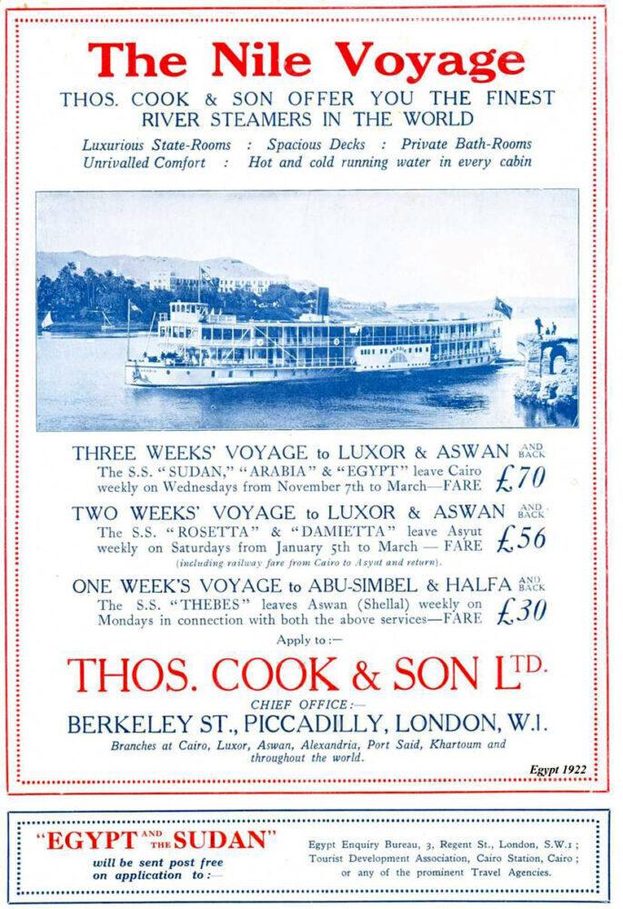 Thomas Cook Nile cruises