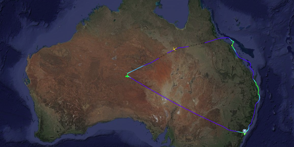 Qantas, QF787, Flight To Nowhere