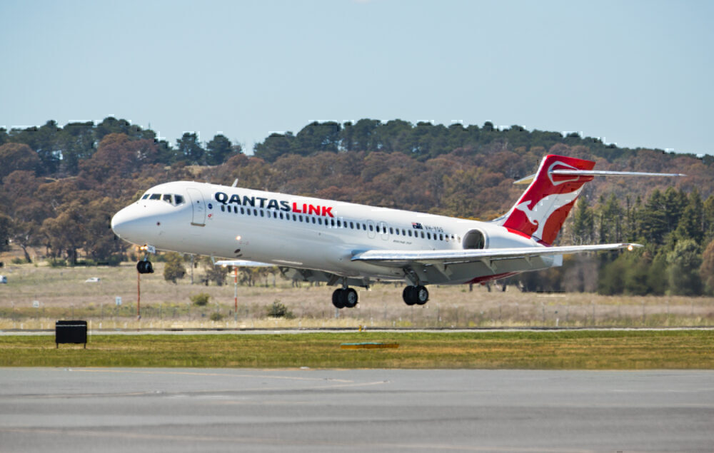 Qantas Boeing 717