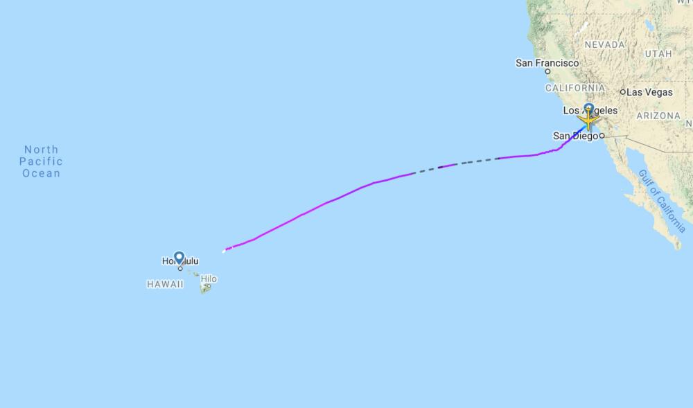 Hawaiian flight HA3