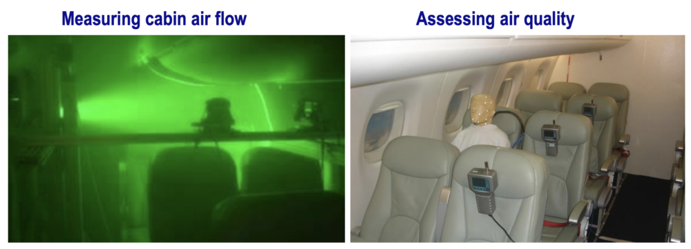 Inflight COVID transmission