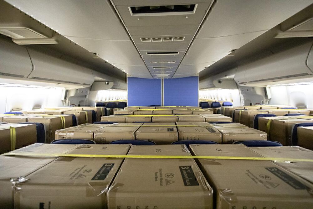 KLM, Boeing 747, Cargo Flights