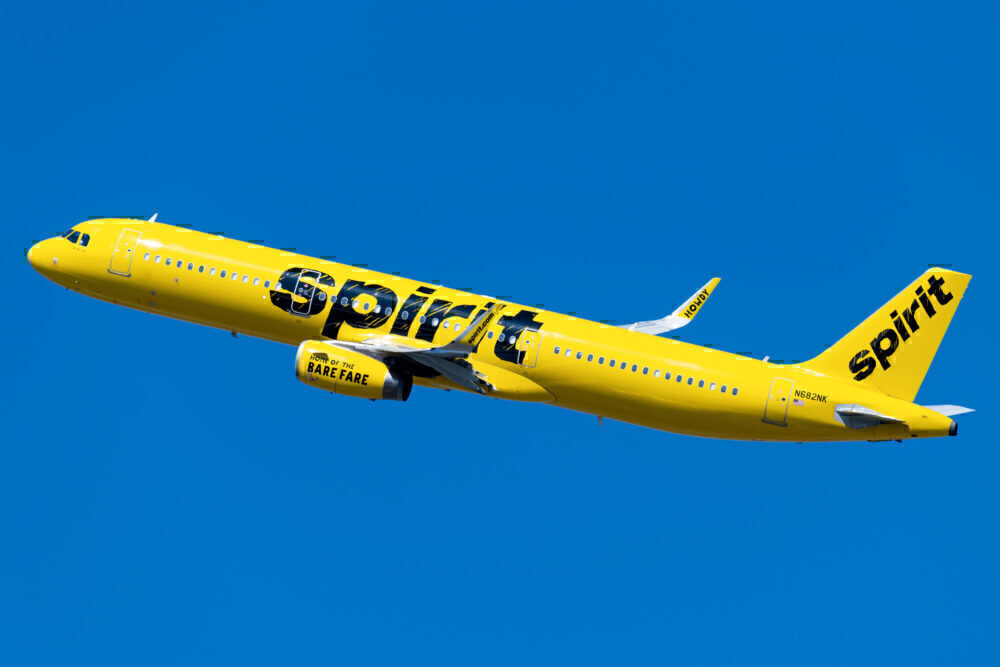 Spirit Airlines Airbus A321 231 N682NK 1