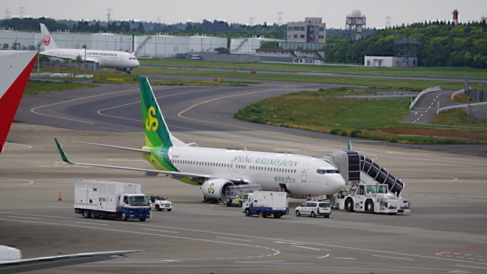 Spring airlines 737