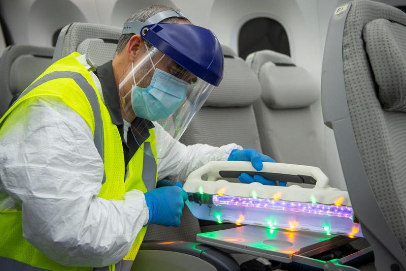 Boeing live virus tests
