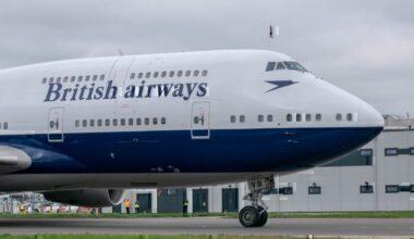 British Airways, Boeing 747, London Heathrow