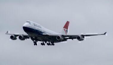 British Airways, Boeing 747, Preservation
