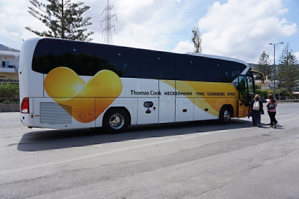 Thomas Cook bus