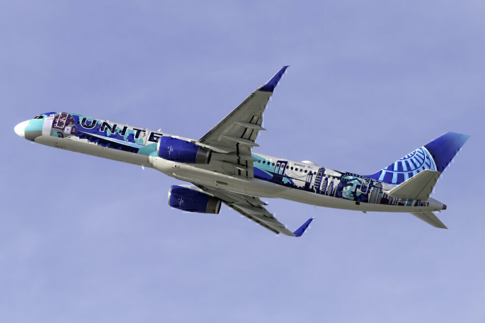 United(Her Art Here -New York _ New Jersey Livery) Boeing 757-224 N14102 (2)