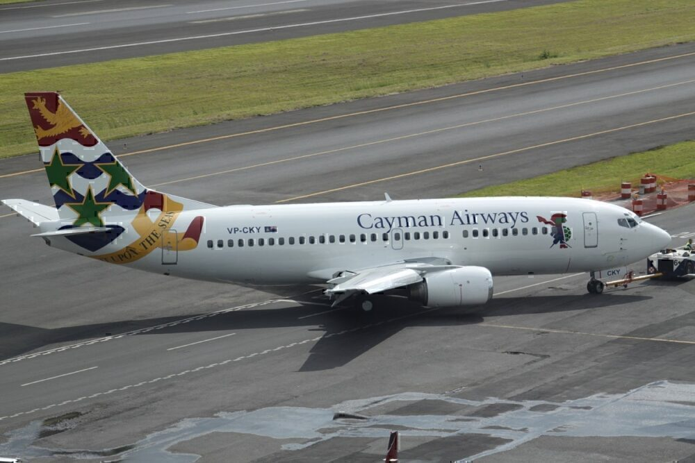 cayman airways delta storm