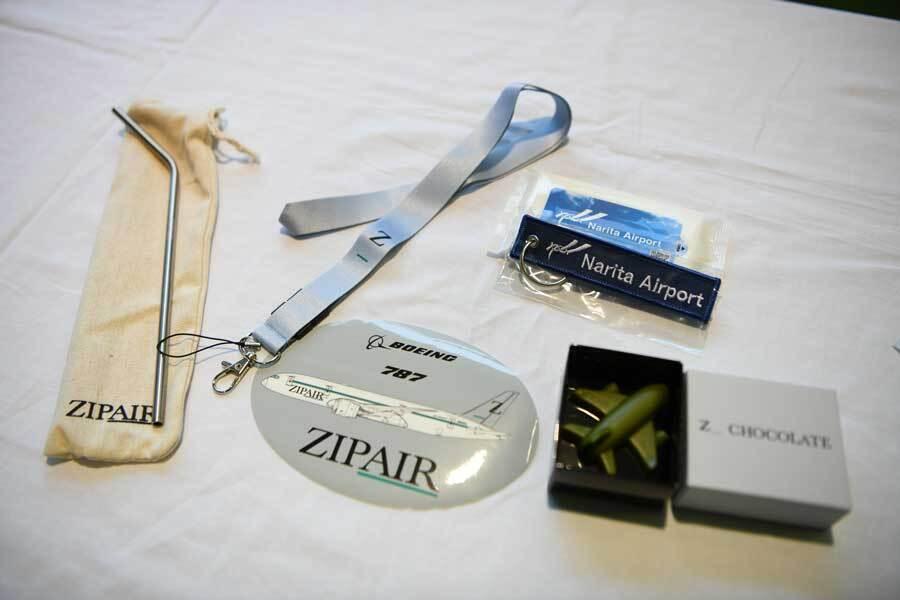 ZIPAIR first flight