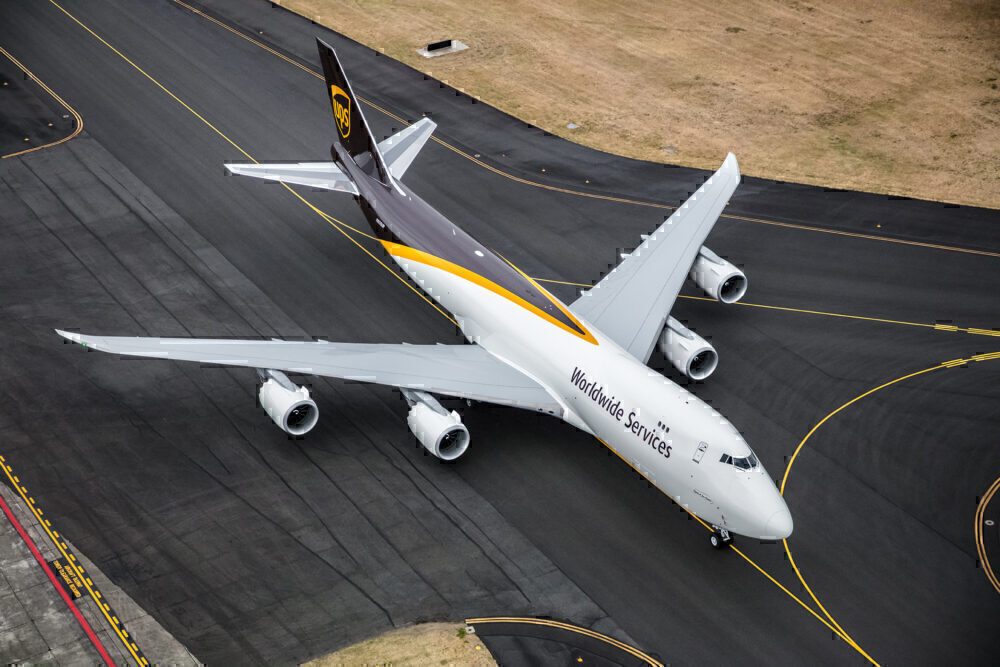 UPS Boeing 747-8F