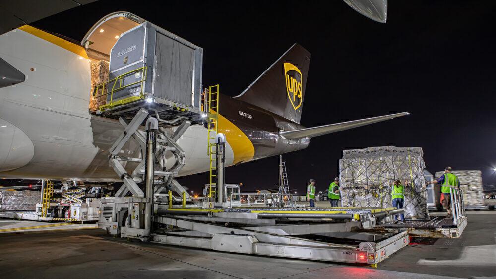 UPS planes