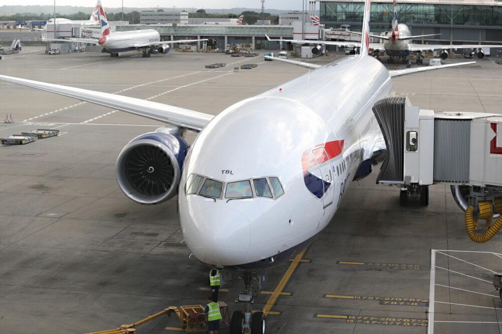 British Airways, Boeing 777, Cabin