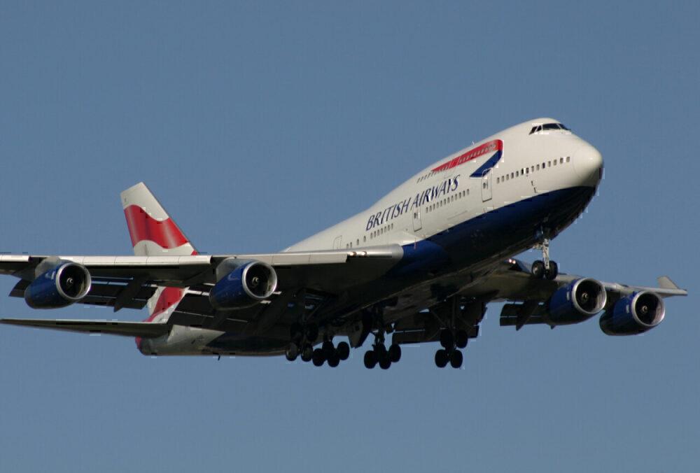 British Airways, Boeing 747, Farewell
