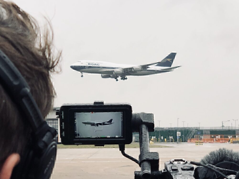 Which Aircraft Have Been Used As Film Sets?