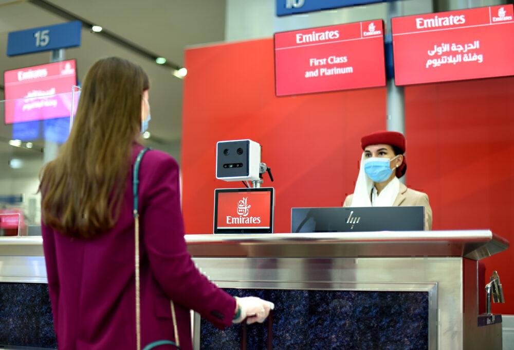 Emirates, Biometric Pathway, Dubai Airport