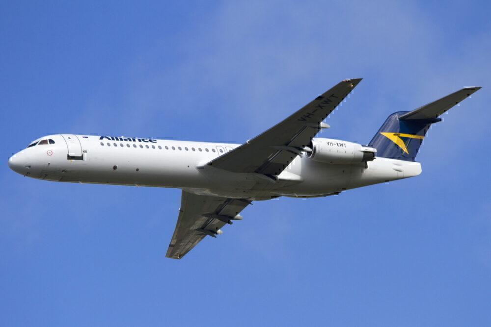 Alliance Airlines Fokker