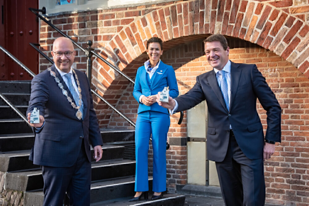 KLM, Delftware House, 101 Years