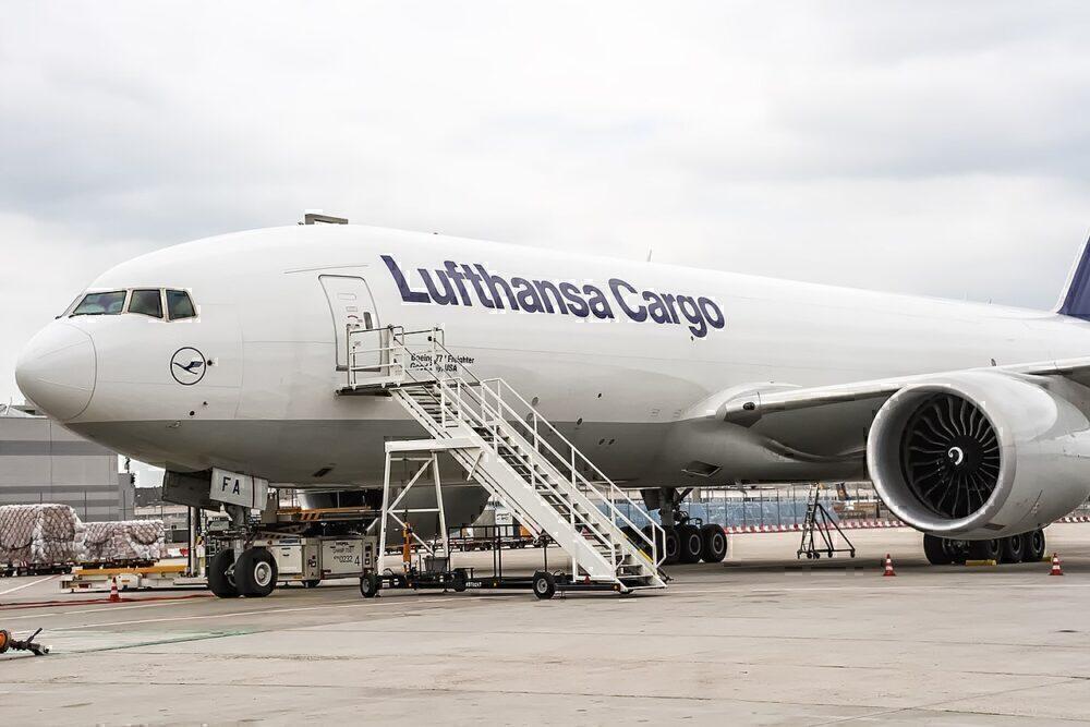 Lufthansa 777F