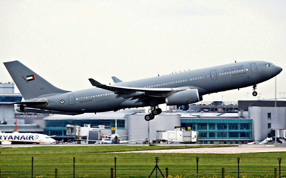 UAE Air Force Airbus A330 MRTT Manchester