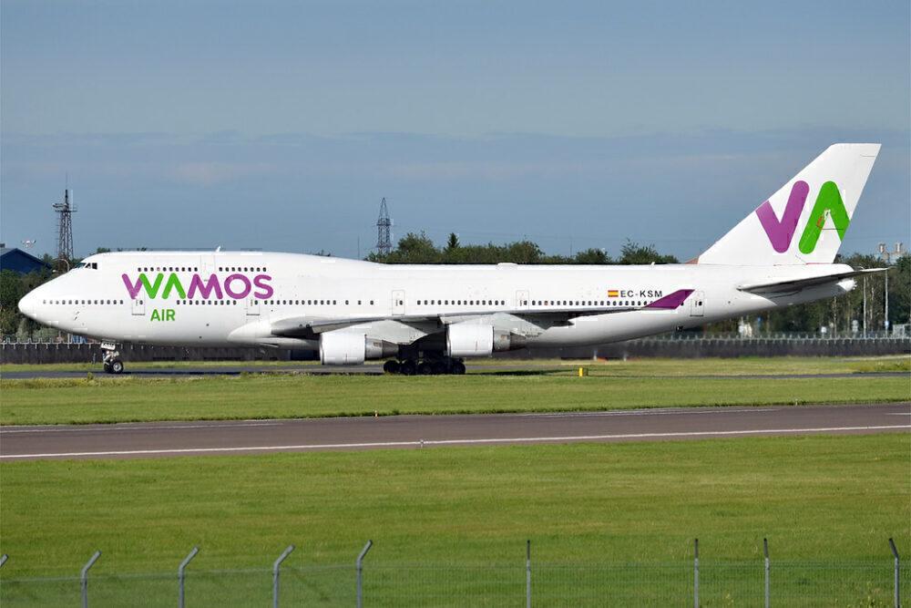 Wamos 747 EC-KSM