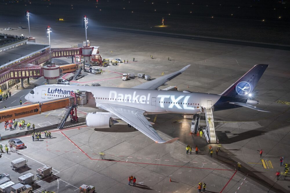 Berling Tegel Airport, Air France, Airport Closure