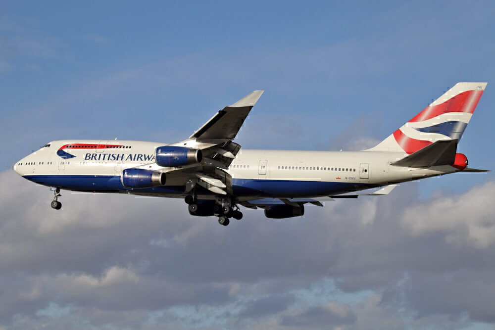 British Airways 747 G-CIVU
