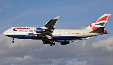 British Airways 747 G-CIVU