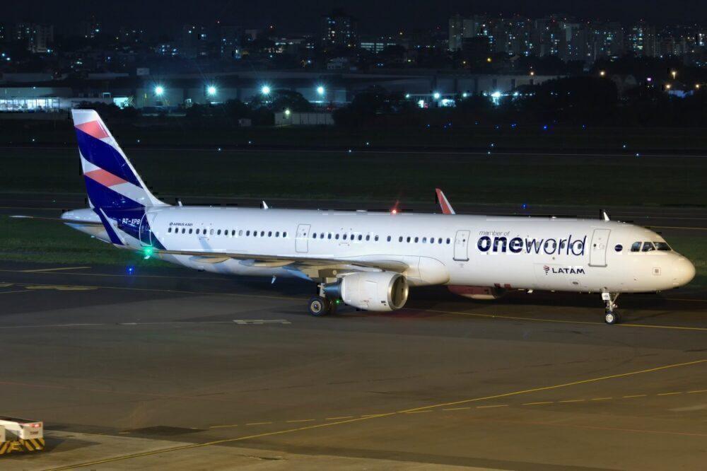 LATAM Brazil A321 OneWorld Livery