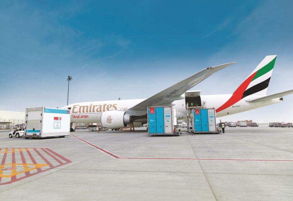 Emirates SkyCargo Plane