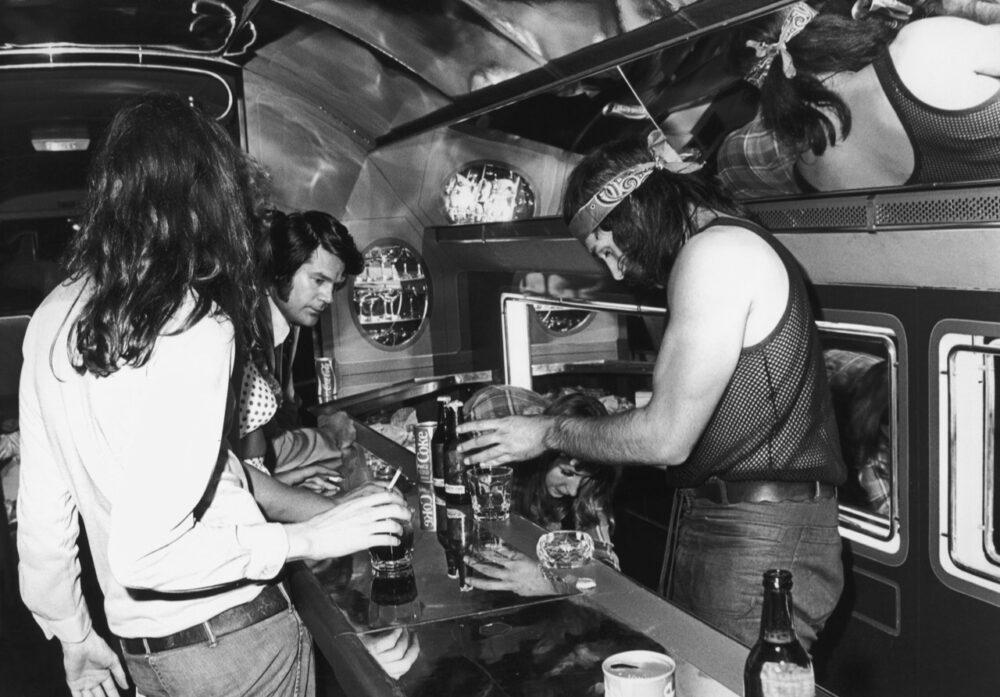 Led Zeppelin Boeing 720 Starship Interior