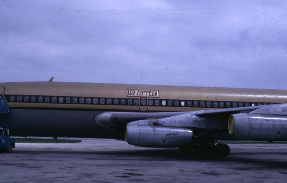 Led Zeppelin Boeing 720 Starship