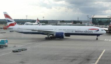 British Airways 777-300