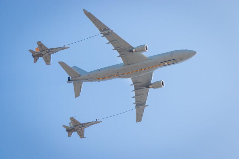 Australian A330 MRTT Air-To-Air Refueling