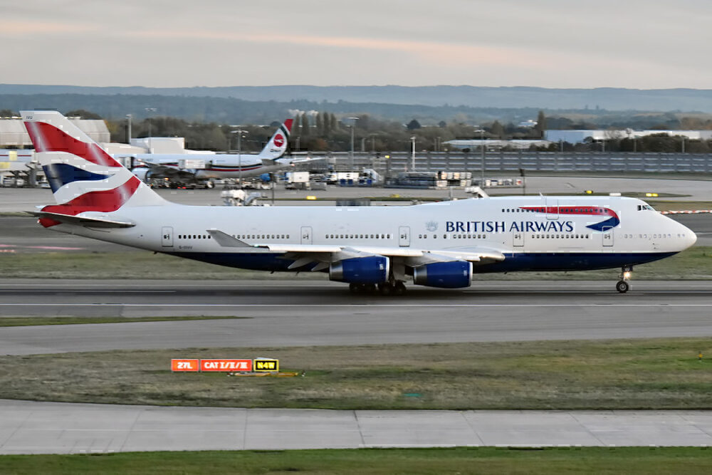 BA 747 G-CIVU LHR