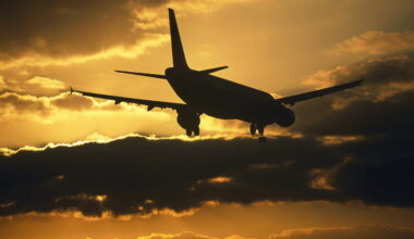 Airbus A320 Plane Silhouette