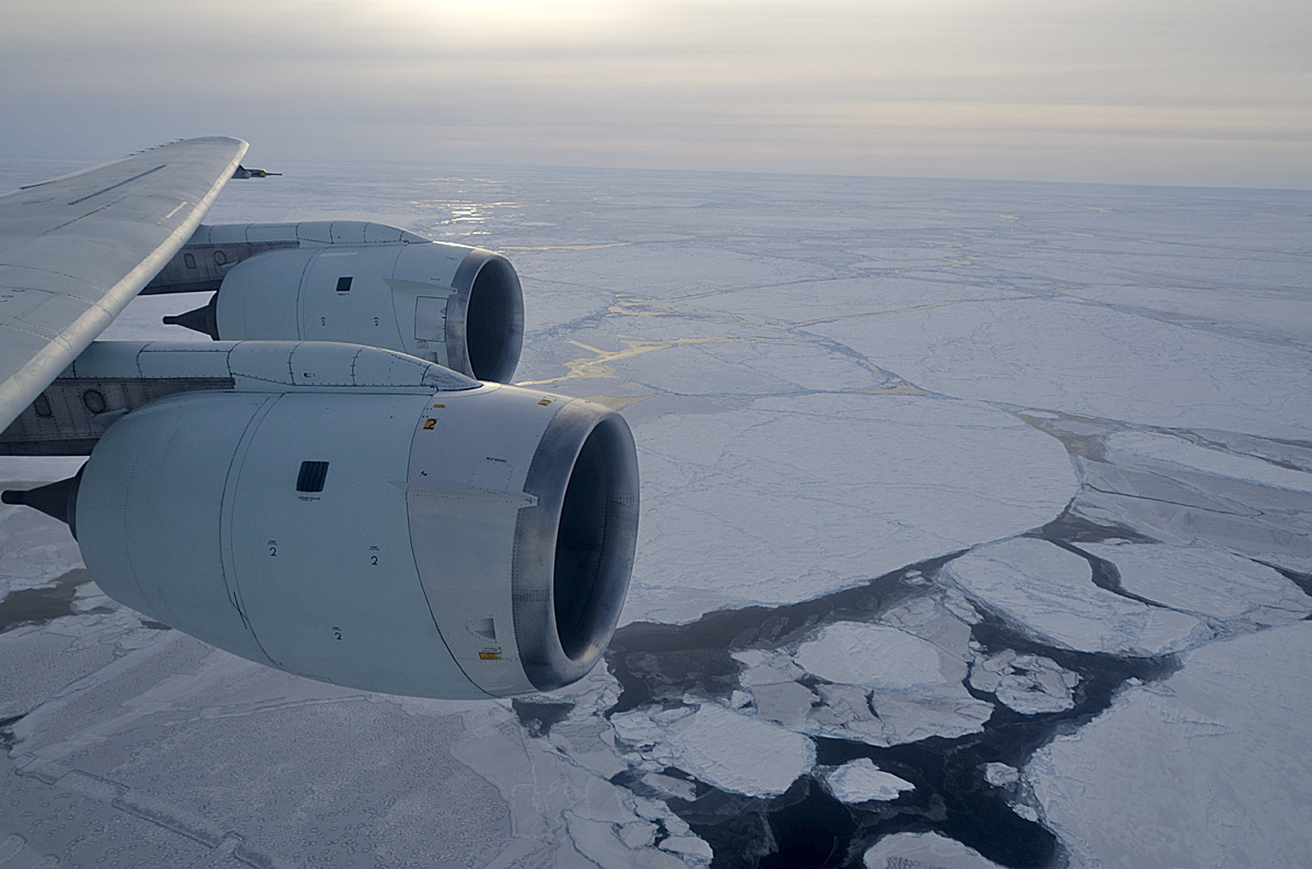Why Aircraft Don't Fly Over The South Pole
