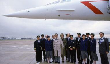 Princess Diana Concorde