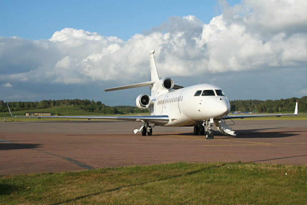 Dassault Falcon 7X Gothenburg City Airport