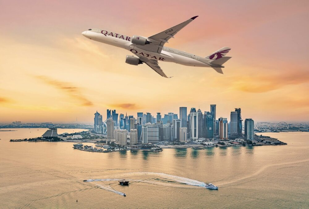 Qatar Airways Sea