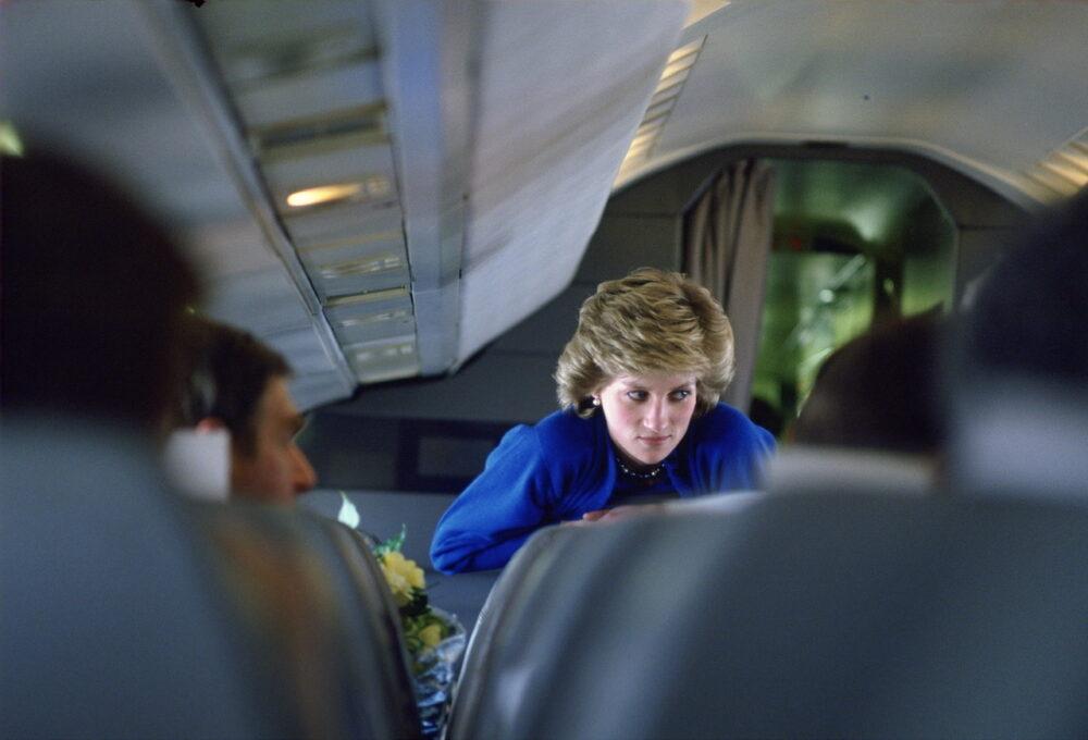 Princess Diana On Concorde