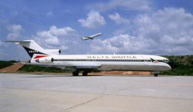 Delta Air Shuttle 727